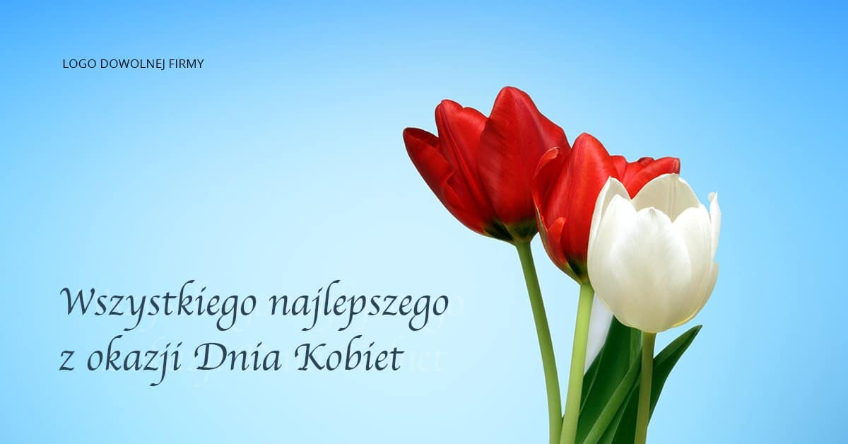 grafika tulipanów