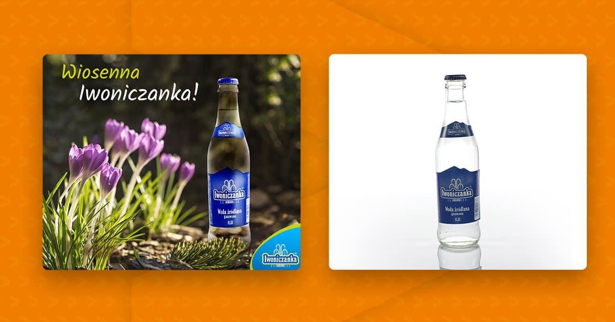 zdjęcie produktu vs obrobione zdjęcie