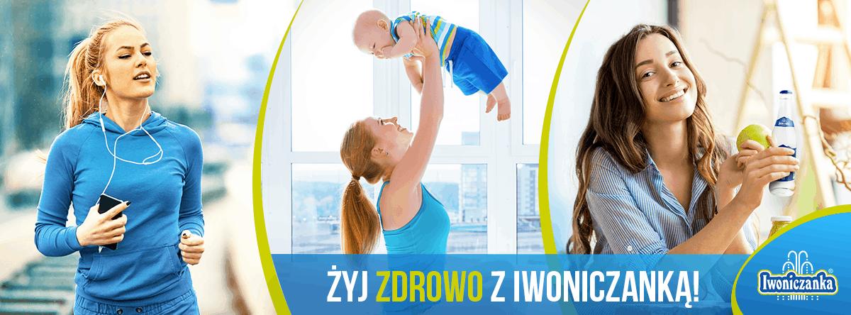Banner Żyj zdrowo z Iwoniczanką