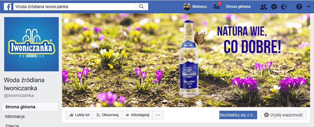 Profil Iwoniczanka na Facebooku