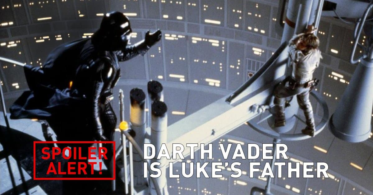darth vader is luke father