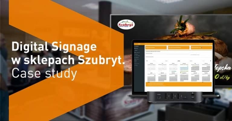 digital signage - case study szybryt