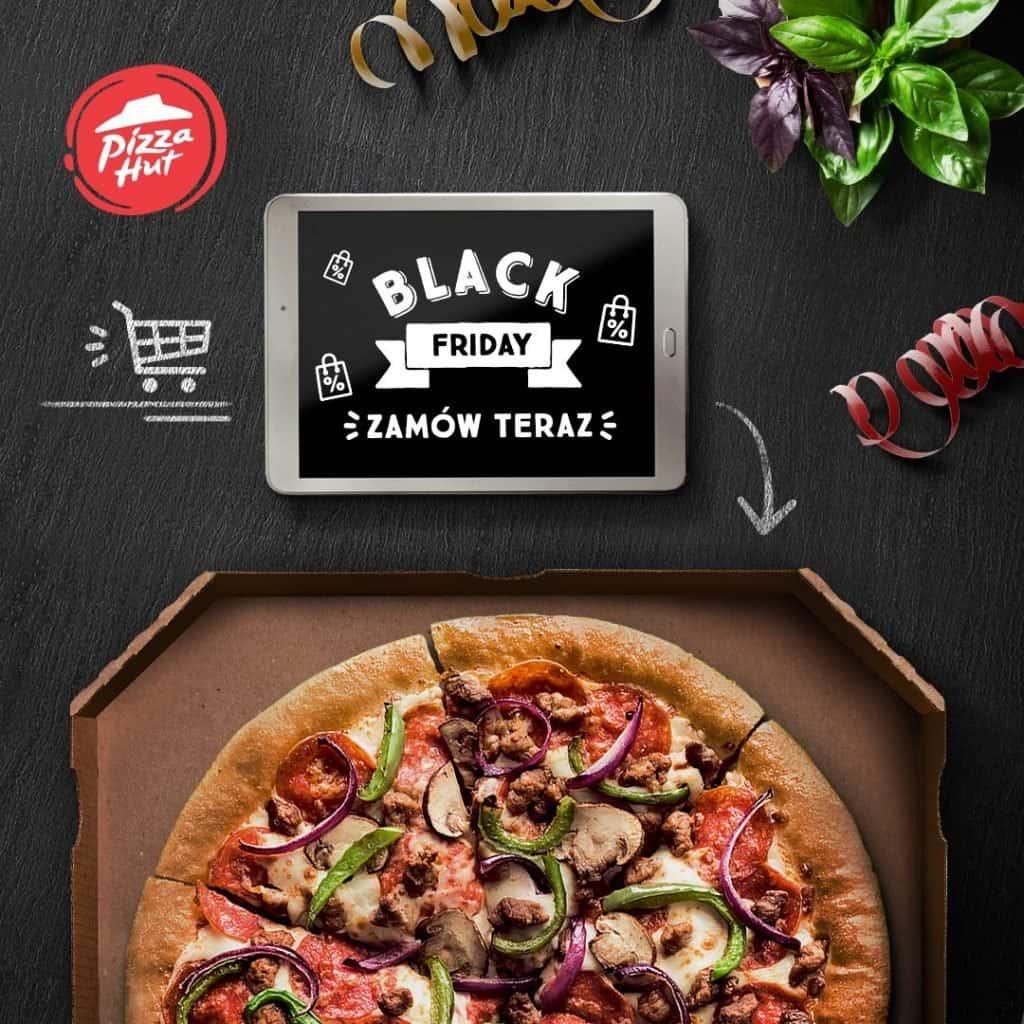 Akcja promocyjna Pizza Hut na Czarny Piątek