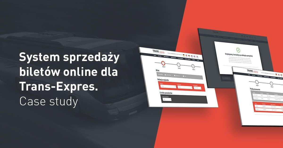 system sprzedaży biletów trans-expres