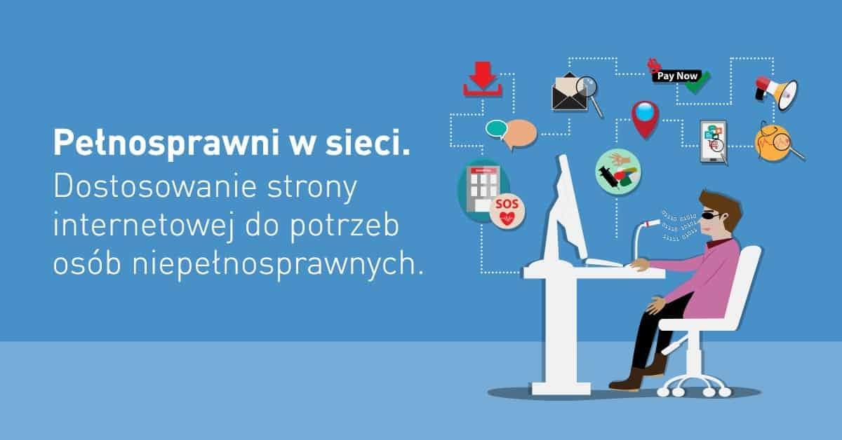 Infografika - Pełnosprawni w Sieci