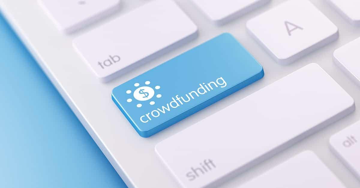Klawiatura z przyciskiem Crowdfunding