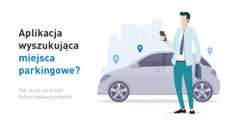 Grafika tytułowa - aplikacja do parkowania