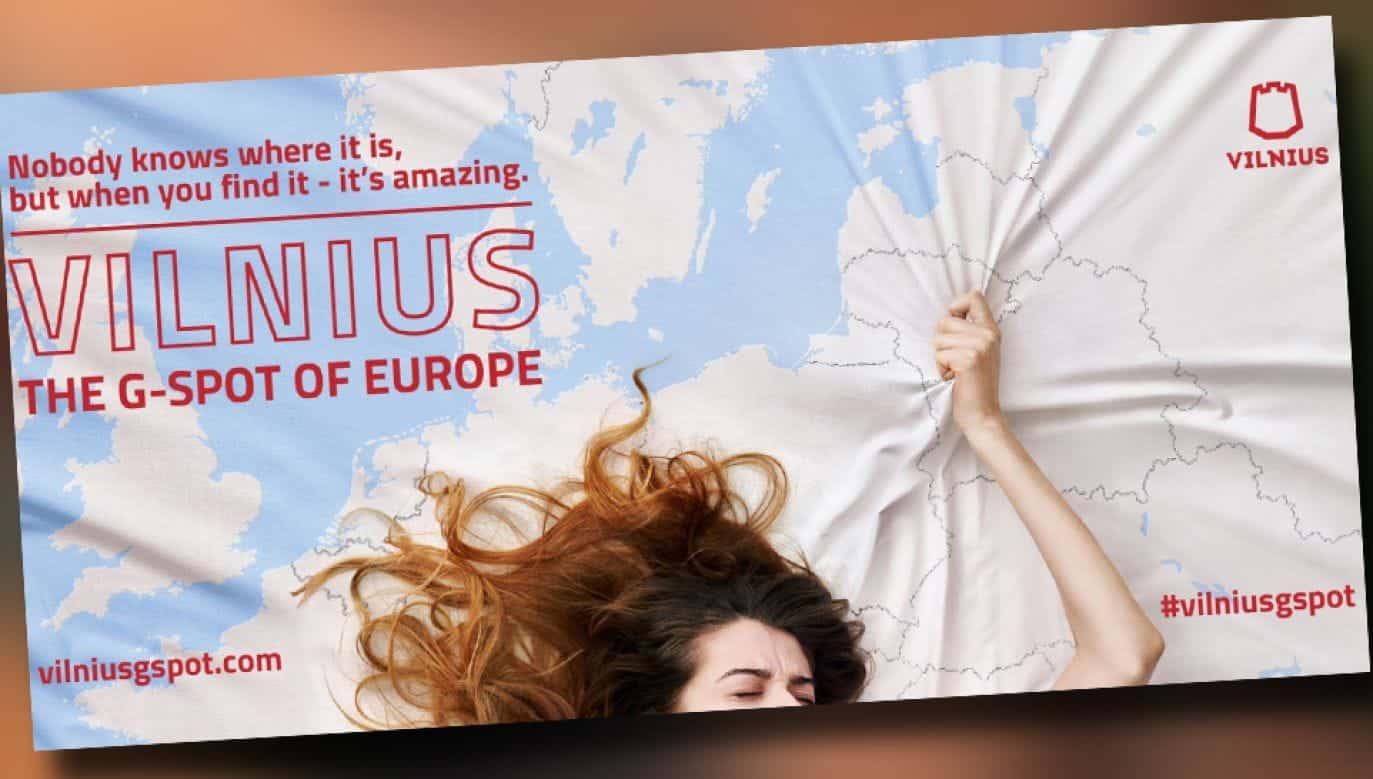 Reklama Wilna - Punkt G Europy