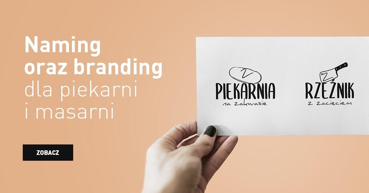 naming oraz branding dla piekarni i masarni