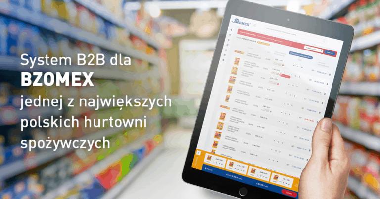 system b2b dla firmy bzomex