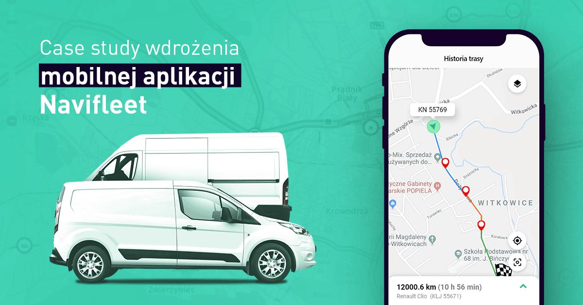 aplikacja mobilna navifleet